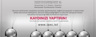 Otomotiv Mühendislik Konferansı IAEC 2016